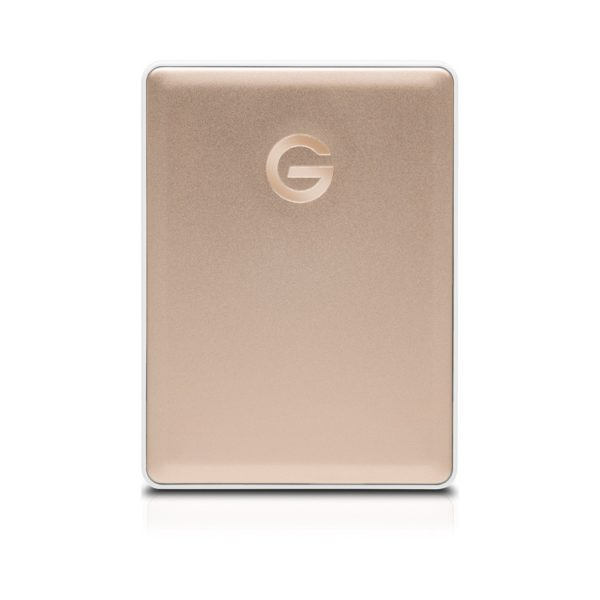 G-Technology G-Drive Mobile USB-C – 2.0 TB | Gold
