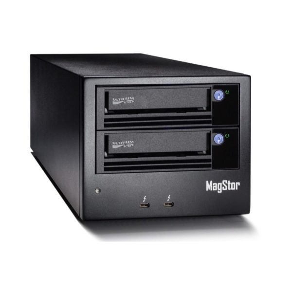MagStor Dual LTO-7 Thunderbolt 3 Tape Drive