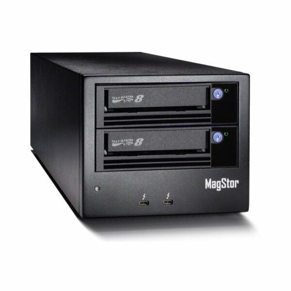MagStor Dual LTO-8 Thunderbolt 3 Tape Drive
