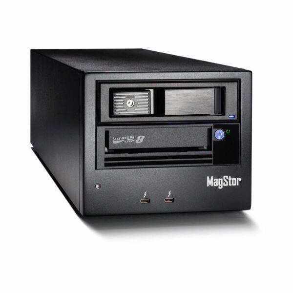 MagStor Single LTO-8 Thunderbolt 3 Tape Drive